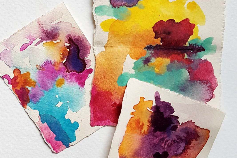 Colour studies, Yvette Kissi, October 2017