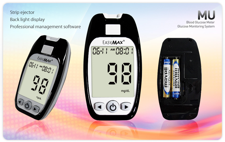 EASYMAX MU glucose meter