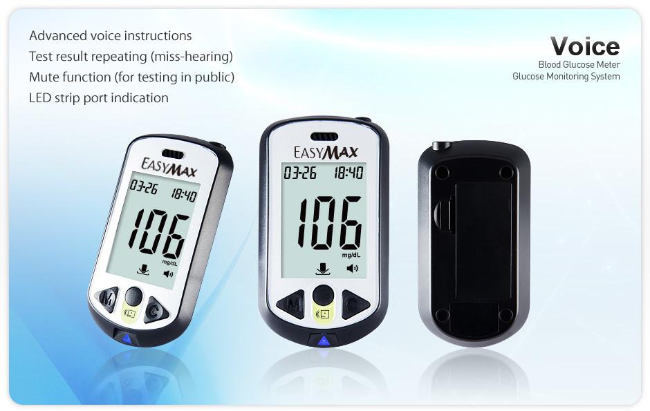EASYMAX Voice glucose meter