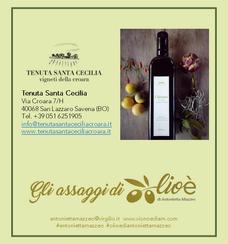 Chiostro - Olio d'oliva Extravergine Biologico - Tenuta Santa Cecilia