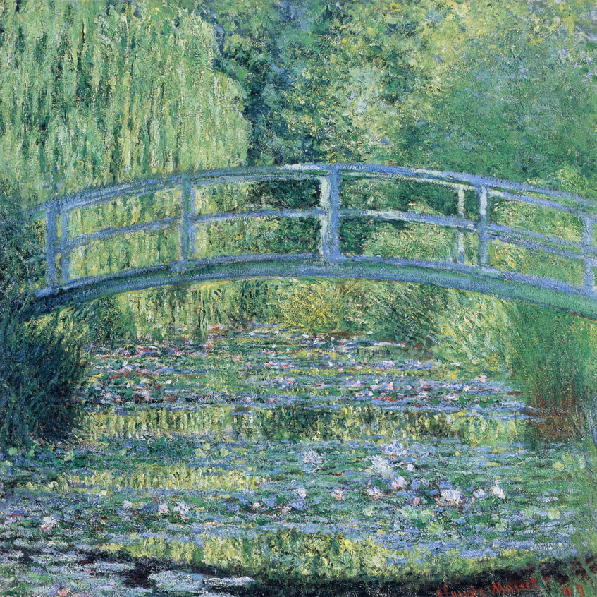 Stagno-delle-ninfee-armonia-verde-Monet.