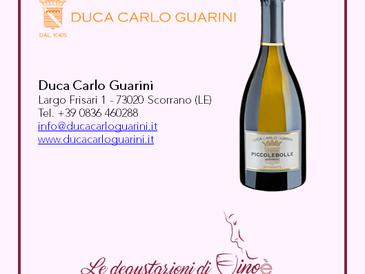 Piccolebolle - Negroamaro in bianco Vino Spumante Extra Dry - Duca Carlo Guarini