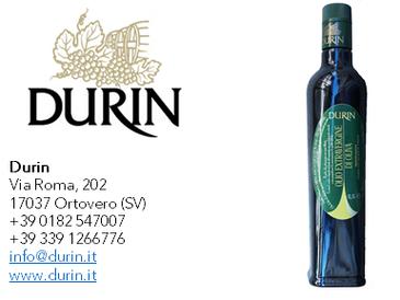 Durin - Olio Extra Vergine di Oliva- Campagna olearia 2018