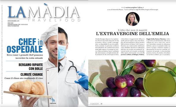 L'olio che non ti aspetti - La Madia Travelfood 345 - lug-ago-set 2020 a cura di Antonietta Mazzeo