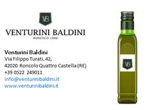 Olio extravergine di oliva Venturini Baldini  - campagna olearia 2018