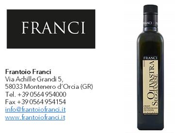 """Frantoio Franci """"Olivastra Seggianese"""" Selezione Fruttato leggero"""