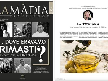 La Toscana - La Madia Travelfood n° 344 - mag - giu 2020 - a cura di Antonietta Mazzeo