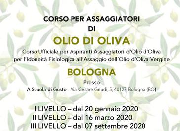 CORSO PER ASSAGGIATORI  DI OLIO DI OLIVA - Bologna