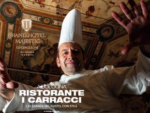Ristorante i Carracci - Grand Hotel Majestic (già Baglioni) – Bologna - Chef Cristian Mometti L'eleg