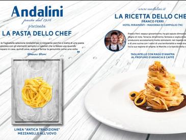 Chef Franco Ferri per Andalini