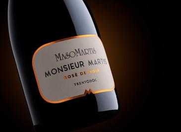 Maso Martis presenta un rarissimo Trentodoc rosé da sole uve Meunier.