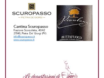 Pianlong 2017- Buttafuoco Storico  D.O.C.  - Cantina Scuropasso Società Agricola Pietra De Giorgi