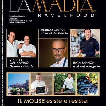 E' uscita La Madia Travelfood                   di settembre - ottobre 2021