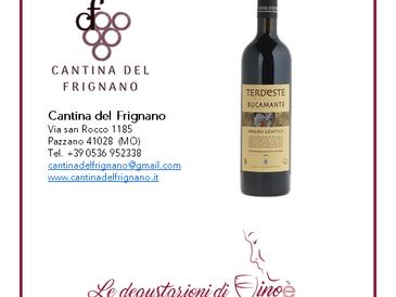 TERD'ESTE  Bucamante 2012 - Cantina del Frignano