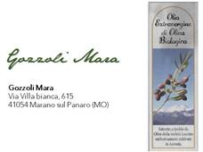 Olio extravergine di oliva biologico - Gozzoli Mara  - campagna olearia 2018