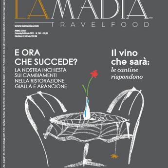 E' uscita La Madia Travelfood                   di gennaio - febbraio 2021