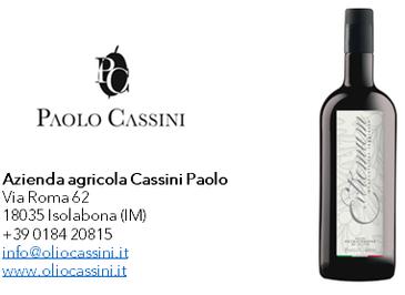 Extremum - Monocultivar Taggiasca - Campagna olearia 2019 - Az. Agr. Cassini Paolo