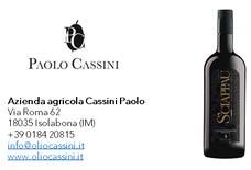S'Chiappau - Monocultivar Taggiasca - Campagna olearia 2019 - Az. Agr. Cassini Paolo