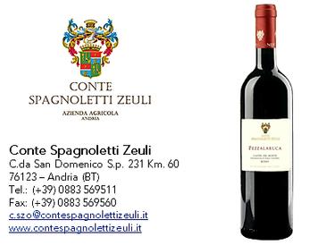 Pezzalaruca - Castel del Monte DOC – Rosso 2016 - Conte Spagnoletti Zeuli