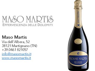 Madame Martis 2009 - Trento DOC Brut Riserva Millesimato - Maso Martis