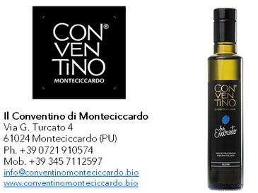 Frà Evaristo - Olio extravergine di oliva - Il Conventino - campagna olearia 2018