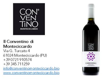 Cardoviola - IGT Marche Rosso- Il Conventino di Monteciccardo