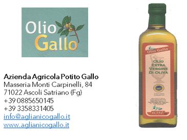Olio Gallo - D.O.P. Dauno Subappennino