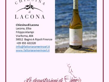 Elba Vermentino DOC 2019 - Chiesina Lacona