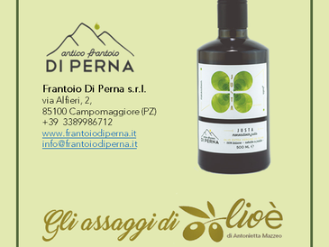 Justa - Olio Extra Vergine di Oliva da Monocultivar Justa - Frantoio Di Perna