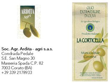 La Corticella  - Soc. Agr. Ardita - campagna olearia 2018