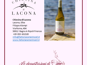 Ansonica dell'Elba DOC 2019 - Chiesina Lacona
