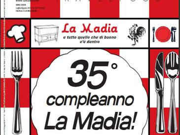 E' uscita La Madia Travelfood                    di luglio-agosto