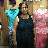 Thelma in her store.JPG