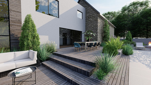 Projet 12 Vue 4 www.architecte-paysagiste.eu