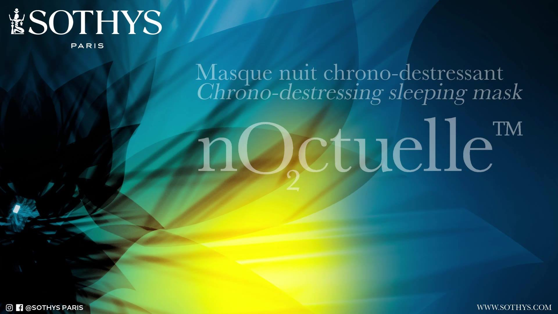 NEW nO2ctuelle™ 🌙  Sleepless nights, a hectic lifestyle, the harshness of daily life . . . every day your skin is under strain.   🎥 Discover the video showing how to apply the Chrono-destressing Sleeping Mask!  🎥 Upon waking, the skin is visibly repl