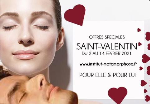 Retrouvez ici les packs Saint-Valentin de votre institut de beauté Métamorphose à Strasbourg, en Alsace