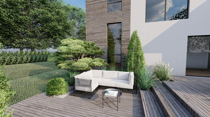 Projet 12 Vue 5 www.architecte-paysagiste.eu