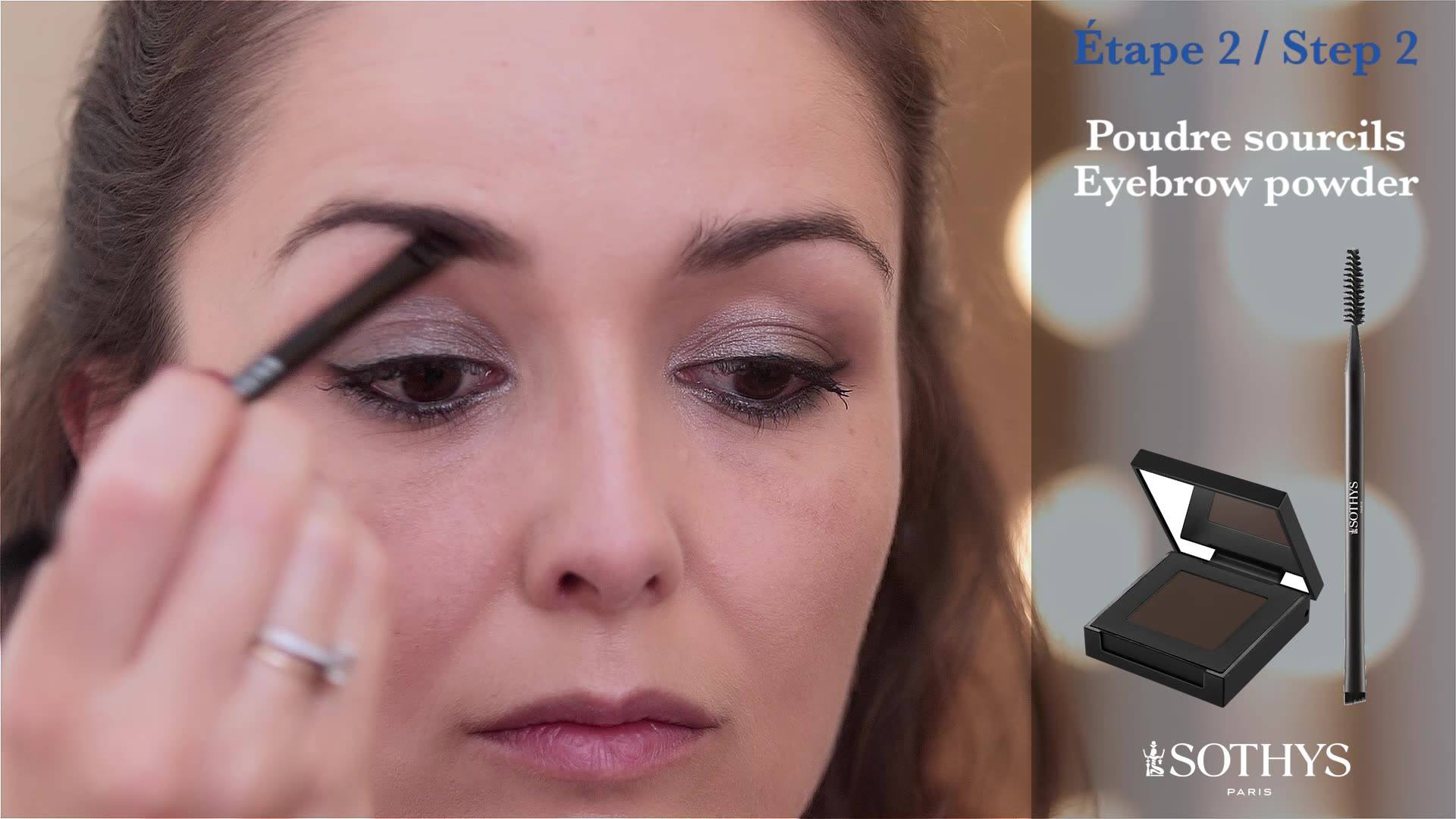 [Make-up Advice] Sothys Paris Want to learn how to perfect your eyebrows when applying your make-up?  Check out the Sothys video for advice on how to shape your eyebrows in 2 steps!  Find out more about our make-up products for your eyes at: ➡️ www.s
