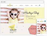 site internet vitrine pas cher