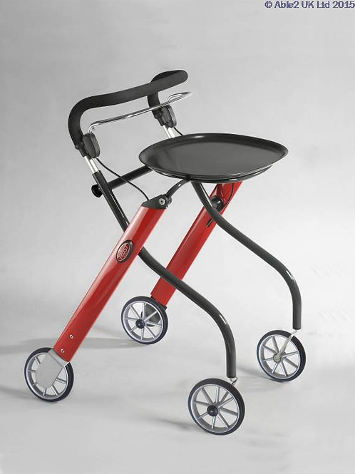 Lets Go Indoor Rollator - Red/Black VAT EXEMPT