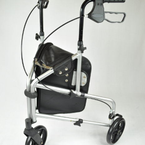 Compact Aluminium Tri Wheel - Blue VAT EXEMPT