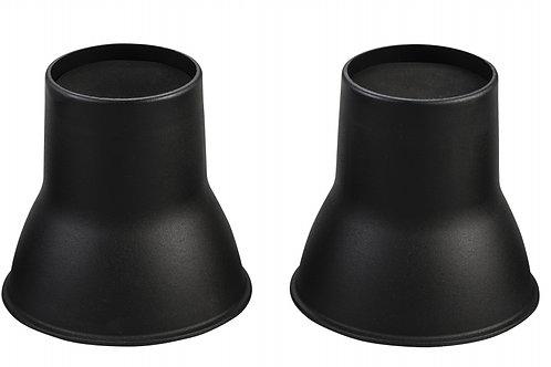Elephant Feet 14cm - Black (VAT EXEMPT)