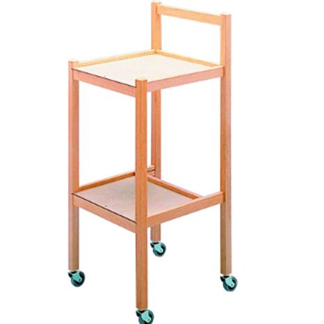 Wooden Compact Trolley VAT EXEMPT