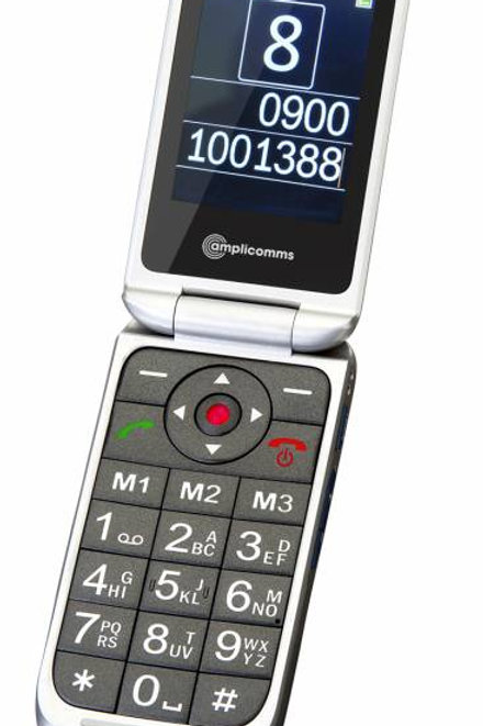 PowerTel mobile Phone M7000i Silver (VAT EXEMPT)