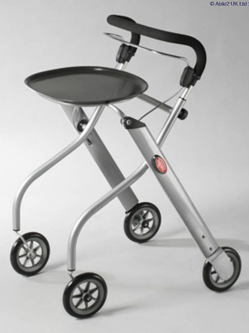 Lets Go Indoor Rollator - Silver/Silver/Black VAT EXEMPT