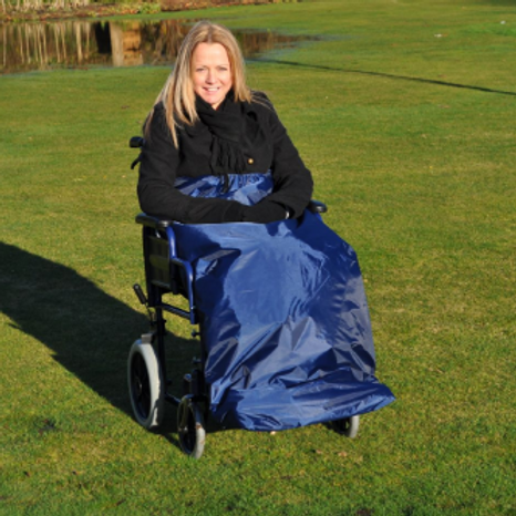 Splash Deluxe Wheelchair Apron (Lined) - U