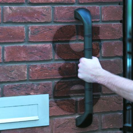 """Prima Grab Bar - Outdoor - Green & Black - 46cm (18"""") VAT EXEMPT"""
