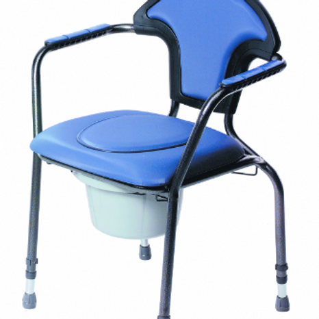 Luxury Commode Chair - Blue VAT EXEMPT
