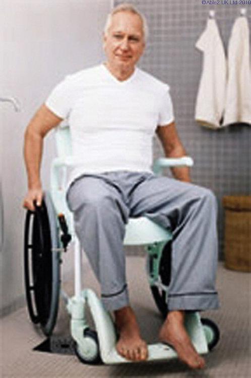 Clean Shower & Toilet Chair - Self Propelled VAT EXEMPT