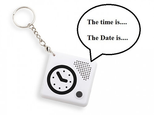 Talking Keychain Pocket Clock